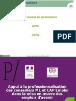 Appui Reseaux Prescripteurs AFPA CRES