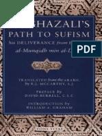 Al Ghazalis Path to Sufism His Deliverance From Error Al Munqidh Min Al Dalal