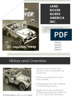 Land Rover North America Inc.