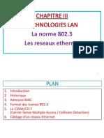 Reseaux Locaux et Industriel - Chapitre 2