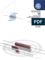 HTR India - Products - Wire Wound Resistors - Silicone Coated Resistors - HIA (English)