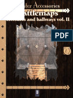 0One Games Battlemaps Corridors and Hallways Vol II