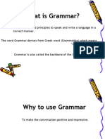 Speeches of English Grammar (1)