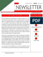 Quarterly Newsletter Oct-Dec 2013 GFATM PPTCT