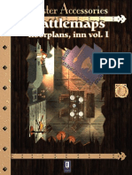 0One Games Battlemaps Floorplans - Inn Vol I