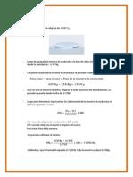 Calculos y Balance de Materia de Desecado de Anchoveta