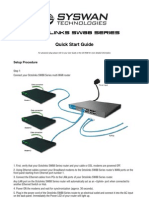 Syswan Octolinks SW88 Multi WAN Router Quick Installation Guide