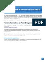 Ipad/iphone connection to Yamaha instruments