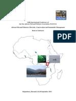 Book of Abstracts PAFFA5 Bujumbura