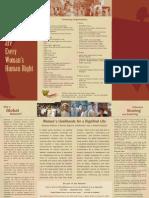 Livelihood Are Every Wom Ns Human Rights English