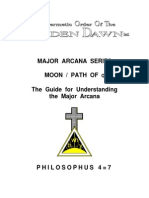 GOLDEN DAWN 4=7 Major Arcana Series - Moon