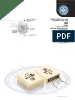HTR India - Products - Current Sense Resistors - Ceramic Encased Resistor - BR (English)