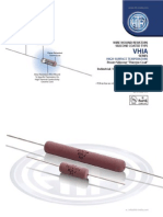 HTR India - Products - Wire Wound Resistors - Silicone Coated Resistors - VHIA (English)