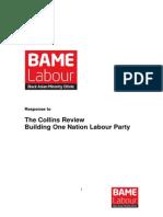 BAME LabourResponse -Collins Review Labour Party