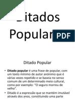 Ditados Populares - PDF