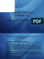 Curs de Arbitraj Comercial