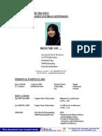 Resume of Jun