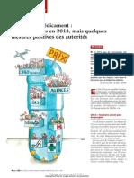 l'Annee 2013 Du Medicament - Peu de Progres, Mais Quelques Mesures Positives Des Autorites