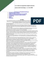 Evaluación De Un Sistema De Seguridad E Higiene Industrial