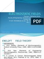 field theory Electrostatics II