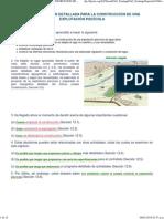 12. PLANIFICACIÓN DETALLADA PARA LA CONSTRUCCION DE UNA EXPLOTACIÓN PISCÍCOLA