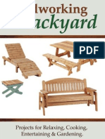 Woodworking for the Backyard