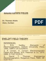 field theory MAGNETOSTATICS
