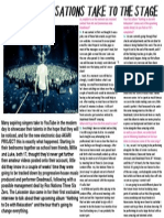 Mock Up Double Page Article