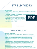 field theory Vector Algebra