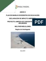 Anexo 5. Plan de Manejo Excedentes Excavacion
