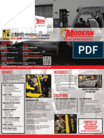Modern Product Support Specialists - Brochure