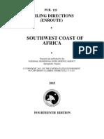 Pub. 123 Southwest Coast of Africa (Enroute), 14th Ed 2013