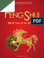 Feng Shui 2014 Booklet