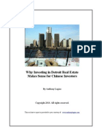 Why Investing in Detroit Real Estate Makes Sense for Chinese Investors - Exclusive Report