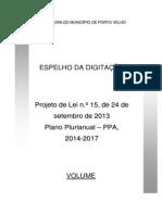 Projeto de Lei PPA-2010-2013-Espelho Digitação-Document-Final