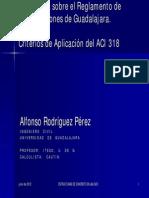 Semblanza Reglamento de Guadalajara