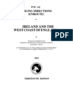 Pub. 142 Ireland and the West Coast of England (Enroute), 13th Ed 2013