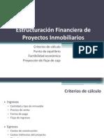 Estructuración de Proyectos Inmobiliarios
