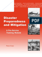 Peace Corps Disaster Preparedness and Mitigation  |   Pre Service Training Module 2001