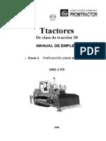 Tractores del tipo de tracción 20 parte 1