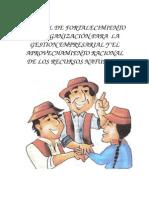 MANUAL DE FORTALECIMIENTO DE ORGANIZACIÓN