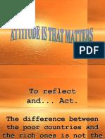 Attitude Can Build Nation