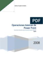Power Point Operaciones Basicas