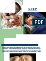 -Infants Have Variable Sleep Pattern That Are Influence by Temperament