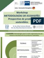 Metodologias Ecodiseno Workshop Casa Alemana 2011