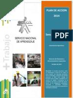 PLAN DE ACCION 2014 - Sena más trabajo - Lineamientos Operativos (1)