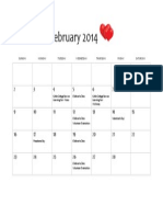 NTX Cares Community Calendar February 2014