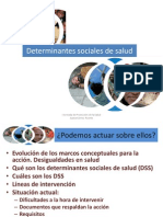 Determinantes Sociales de La Salud by Juana Gomez PAPPS
