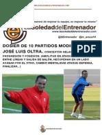 Metodología de entrenamiento de José Luis Oltra.(2)