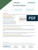 CrowdSource's 2014 Online Retailer Playbook